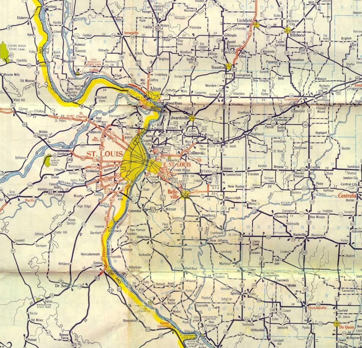 St. Louis Maps Page